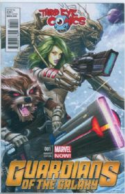Guardians Of The Galaxy #1 Third Eye Comics Variant (2013) Movie Marvel comic book